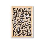 Mini Artbook Klee Comédiens 12 x 17 cm