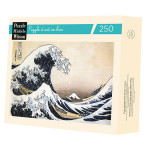 Puzzle en bois 250 pièces Hokusai La vague