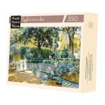 Puzzle en bois 350 pièces Les jardins de l'alcazar