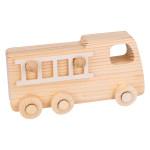 Camion de pompier en bois 18 x 9 x 5,5 cm