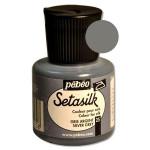 Peinture pour soie Setasilk 45 ml - 25 - Gris argent