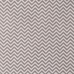 Tissu 50 x 140 cm Zigzag blanc et gris