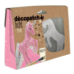 Licorne en papier mâché - Mini kit