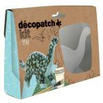 Dinosaure en papier mâché - Mini kit