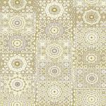 Papier Décopatch 30 x 40 cm 638 mosaique ocre gris