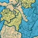 Papier Décopatch  30 x 40 cm 691 carte du monde