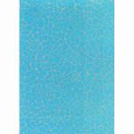 Feuille Décopatch - Effet mosaïque turquoise - 30 x 40 cm