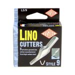 Gouge pour linogravure N9 - 5 pièces