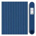 Carton ondulé média 300g - Bleu France - 70 x 50 cm