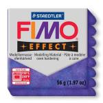 Pâte polymère Fimo Effect 56g - 602 - Lilas pailleté
