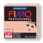 Pâte polymère Fimo Pro Doll Art 85 g - 432 - Rosé