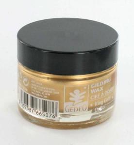 Cire à dorer Gédéo 30 ml - Or roi