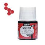 Peinture pour verre Vitrail 45 ml - 12 - Cramoisi