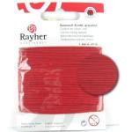 Fil de coton ciré 1 mm x 20 m - Rouge