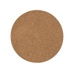 Plaque de liège ronde Ø 20 cm - ep. 6mm - par 2