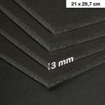 Carton mousse 3mm noir - 21 x 29,7 cm
