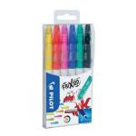 Feutre effaçable Frixion Colors Pochette 6 couleurs