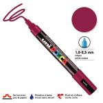 Marqueur PC-5M pointe conique moyenne - Lie de vin
