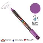 Marqueur PC-1MR calibrée extra-fine - Violet