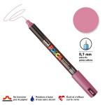 Marqueur PC-1MR calibrée extra-fine - Rose métal