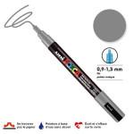 Marqueur PC-3M pointe conique fine - Gris