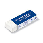 Gomme blanche Mars plastic 65 x 23 x 13mm