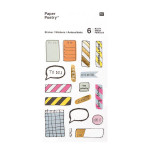 Stickers pour agenda Magical Summer Notes x 6 planches
