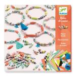 Atelier perles de papier Bracelets de printemps