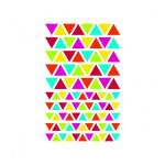 Gommettes Initial triangles x 4 planches