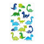 Stickers 3D Cooky dinosaures x 14