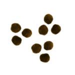 Pompons 7mm set de 70 - Brun