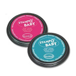 Encreur Stampo'Baby Rose et Turquoise