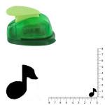 Petite perforatrice - Note de musique - Env 1.5 cm