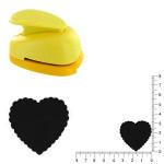 Perforatrice Cœur festonné 3.3 cm