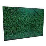 Carton à dessin Annonay vert à élastiques 52x72cm