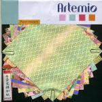 Papier origami pastel 15x15cm 10 feuilles