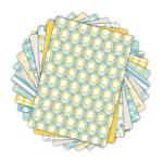 Bloc de papier imprimé Color Factory A4 Léonard & Joséphine n°1 48 feuilles