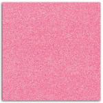 Papier adhésif pailleté rose fluo 30x30cm