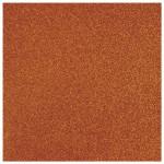 Papier pailleté orange 30x30cm