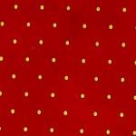 Papier Lokta Imprimé 50 x 75 cm Rouge motif Pois or