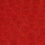 Papier Lokta Imprimé 50 x 75 cm Rouge motif Rond dans l'eau