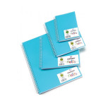 Carnet Dessin Notes couverture polypropylène Bleu 50 F - 21 x 29,7 cm (A4)