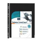 Pochette Cristal Laser A4 par 10 compatible classeur standard