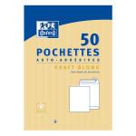 Enveloppe blanche auto-adhésive 110 x 220 mm 50 pcs