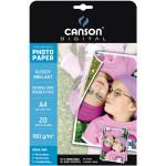 Papier photo brillant Performance A4 - 180 g/m² - 20 feuilles