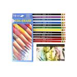 Crayon Col-Erase boite de 12 couleurs