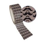 Ruban adhésif décoratif Queen Tape 48 mm x 8 m Moustache