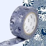 Masking Tape x Nordic countries Lisa Chats rêveurs 20 mm x 10 m