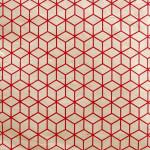Papier Lokta 50 x 75 cm Rouge & Blanc 10