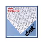 Plaque de plastique transparent 20 x 30 cm ep. 1 mm